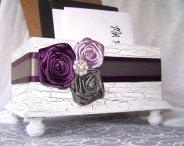 Wedding card box, by itsmyday on etsy.com