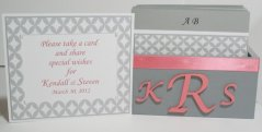 Wedding card box, by MichelleWorldesigns on etsy.com