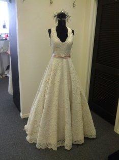 Wedding dress, by BellaVittoria on etsy.com