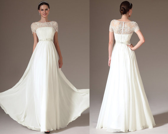 Wedding dress by sthnab on the merry bride for Etsy dresses for weddings