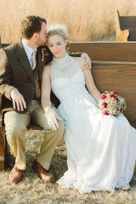 Wedding dress, by TheTealDoor on etsy.com