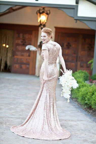 Wedding dress, by WillowMoone on etsy.com
