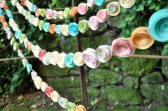 Wedding garland, by lillesyster on etsy.com