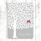 Wedding guest book alternative, by MooseberryPrintShop on etsy.com