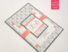Wedding invitation, by citlali on etsy.com