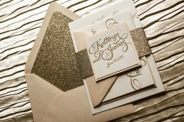 Wedding invitation, by FlairNecessities on etsy.com