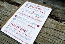 Wedding invitation, by WideEyesPaperCo on etsy.com