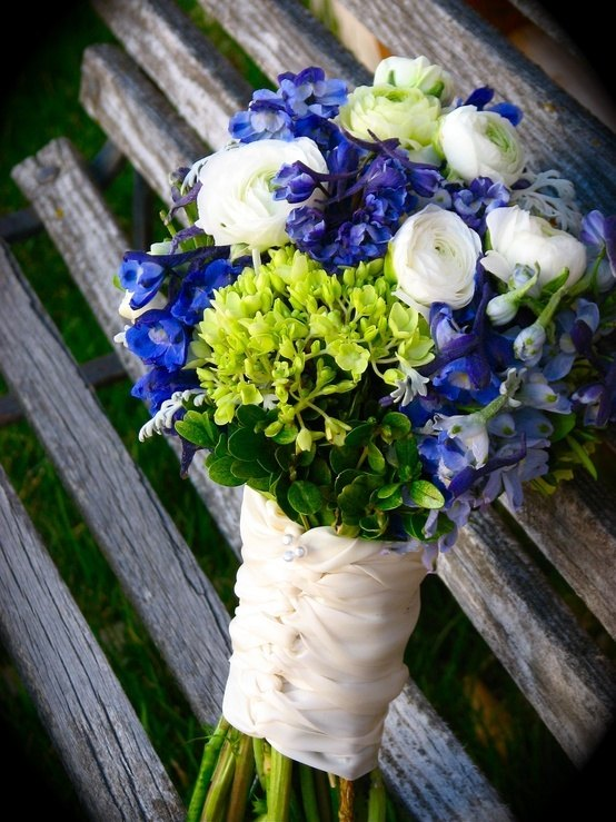 Lime-green and blue wedding | The Merry Bride