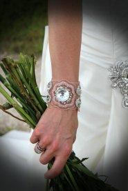Cuff bracelet, by EdenLuxeBridal on etsy.com