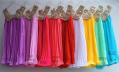 Flower girl dress in nine colours, by lalacanary on etsy.com
