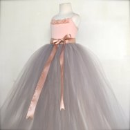 Flower girl tutu dress, by TutusChicBoutique on etsy.com