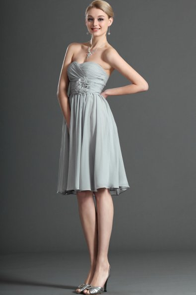 Grey bridesmaid dress, by STHNAB on etsy.com