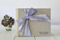 Guest book or wedding album, by clairemagnolia on etsy.com