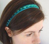 Jade headband, by lauratoal on etsy.com
