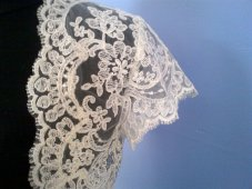 Lace bolero, by neednewclothes on etsy.com