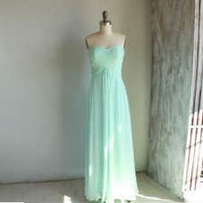 Mint bridesmaid dress, by RenzRags on etsy.com