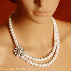 Necklace, by GlamorousBijoux on etsy.com