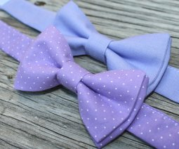 Pageboy bow-ties, by littlevys on etsy.com