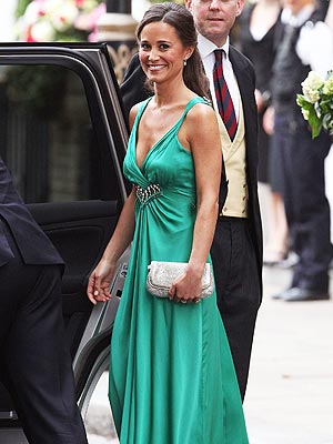Pippa Middleton at the royal wedding {via people.com}