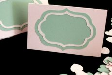 Placecards, by PicksandStones on etsy.com