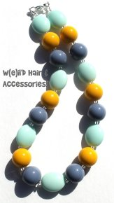 Statement necklace, by WeildHairAccessories on etsy.com