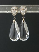 Swarovski crystal earrings, by EstyloJewelry on etsy.com