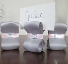 Table number or placecard holders, by ReservedSeating on etsy.com