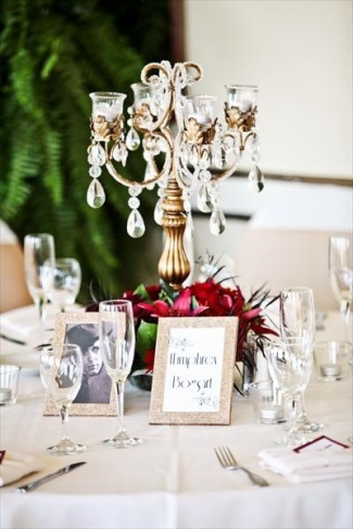 Table setting inspiration {via theknot.com}