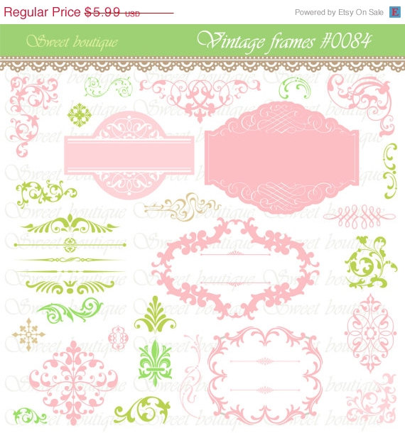 Apple Green Wedding Invitations: Templates To DIY Your Invitations Or Other Stationary, By