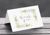 Thank-you cards, by ArtsyDesignCo on etsy.com