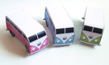 VW Combi placecards! By STNstationery on etsy.com
