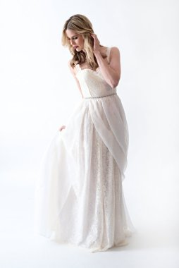 Bridal gown, by AnyaDionne on etsy.com