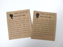 Bride and groom fun fact cards for your reception, by AlRoad on etsy.com