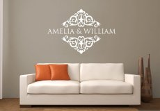 Customised wall decal - www.etsy.com/shop/CreativeWallDecals