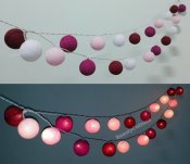 Fairy string lights, by Beautycottons on etsy.com