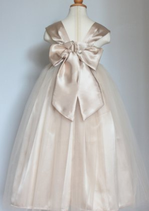 Flower girl dress (back), by SasAndAsa on etsy.com