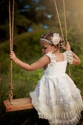 Flower girl dress, by simplysweetadelaide on etsy.com