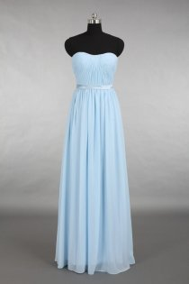 Light blue bridesmaid dress, by DressbLee on etsy.com