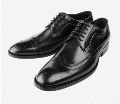 Men's leather Oxford shoes - www.etsy.com/shop/Tietle