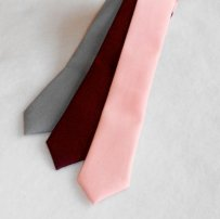 Men's skinny ties, by kellybowbelly on etsy.com
