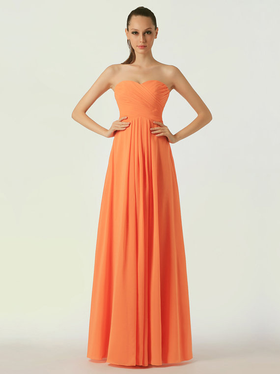 Pink and orange wedding the merry bride for Pink and orange wedding dresses