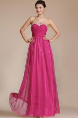 Pink bridesmaid dress, by STHNAB on etsy.com
