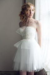 Reception dress, by clairelafaye on etsy.com