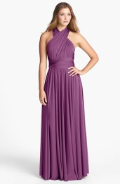 Twobirds convertible bridesmaid dress in radiant orchid, from nordstrom.com
