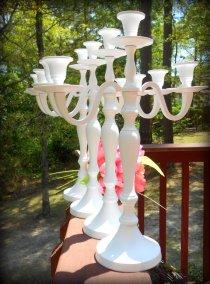 White candelabra - www.etsy.com/shop/PetiteSophisticateDz