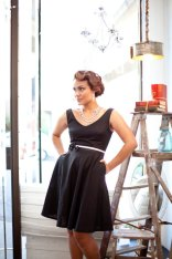 Black bridesmaid dress - www.etsy.com/shop/PureMagnoliaCouture