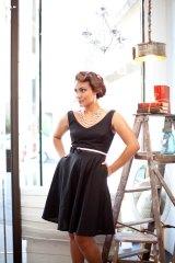 Black bridesmaid dress - www.etsy.com/shop/PureMagnoliaCouture