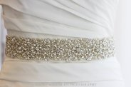 Bridal dress sash - www.etsy.com/shop/LiveAdorned