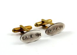 Customised cufflinks - www.etsy.com/shop/Chanchala