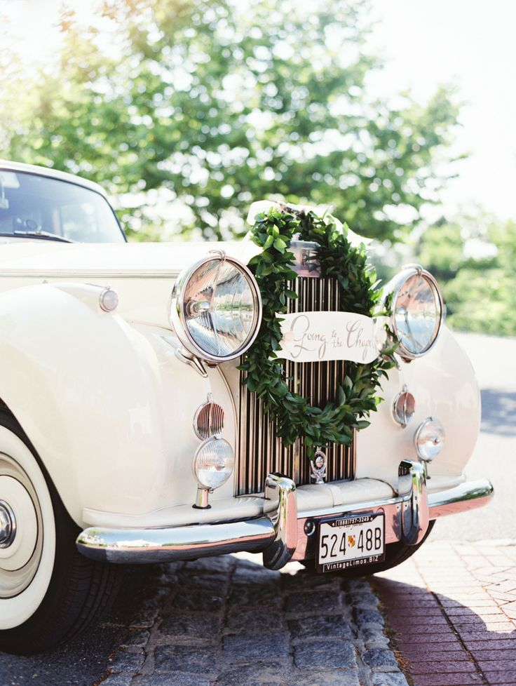 Decorate your wedding car via the for Interieur voiture
